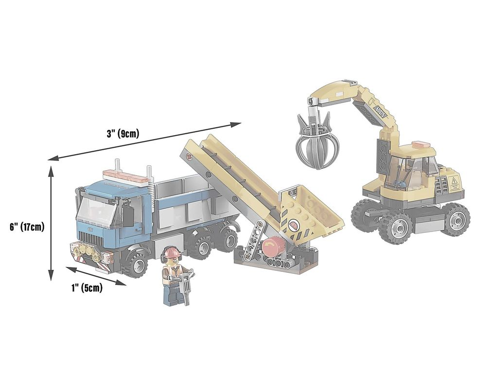 LEGO Set 60075-1 Excavator and Truck