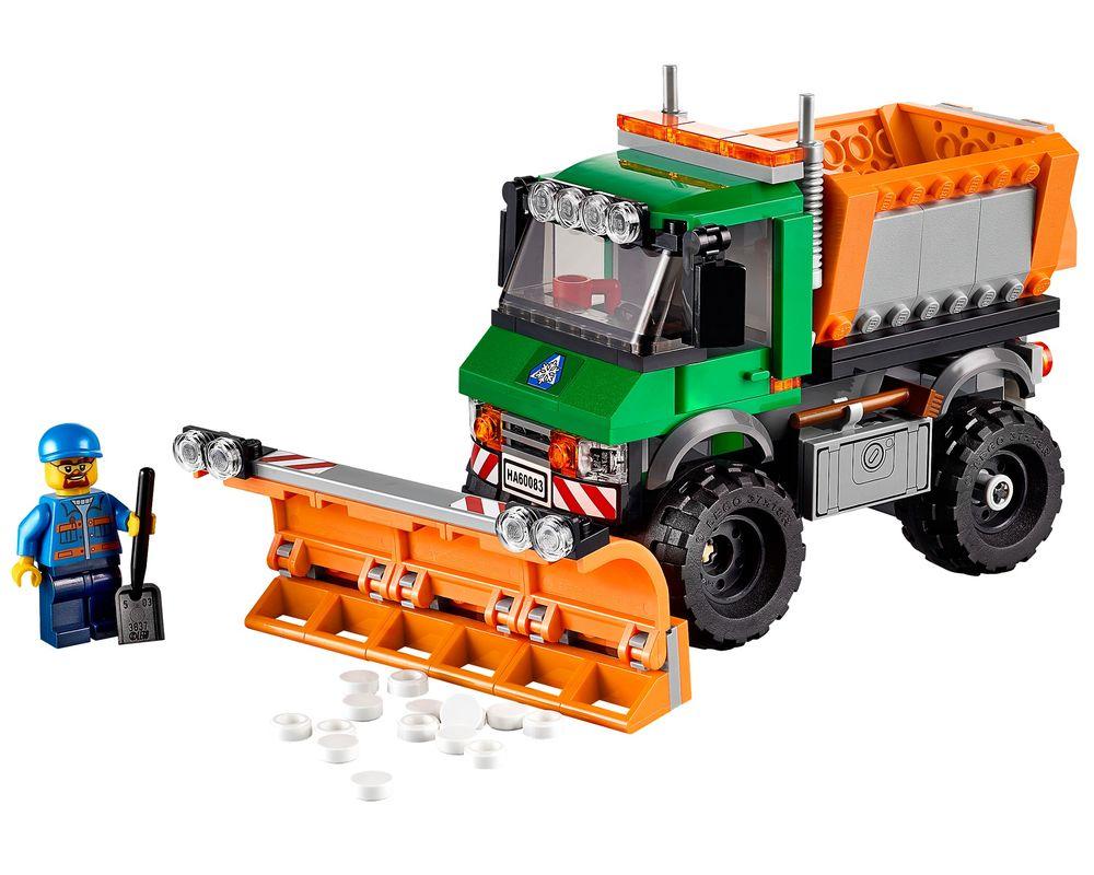 LEGO Set 60083-1 Snowplow Truck (LEGO - Model)