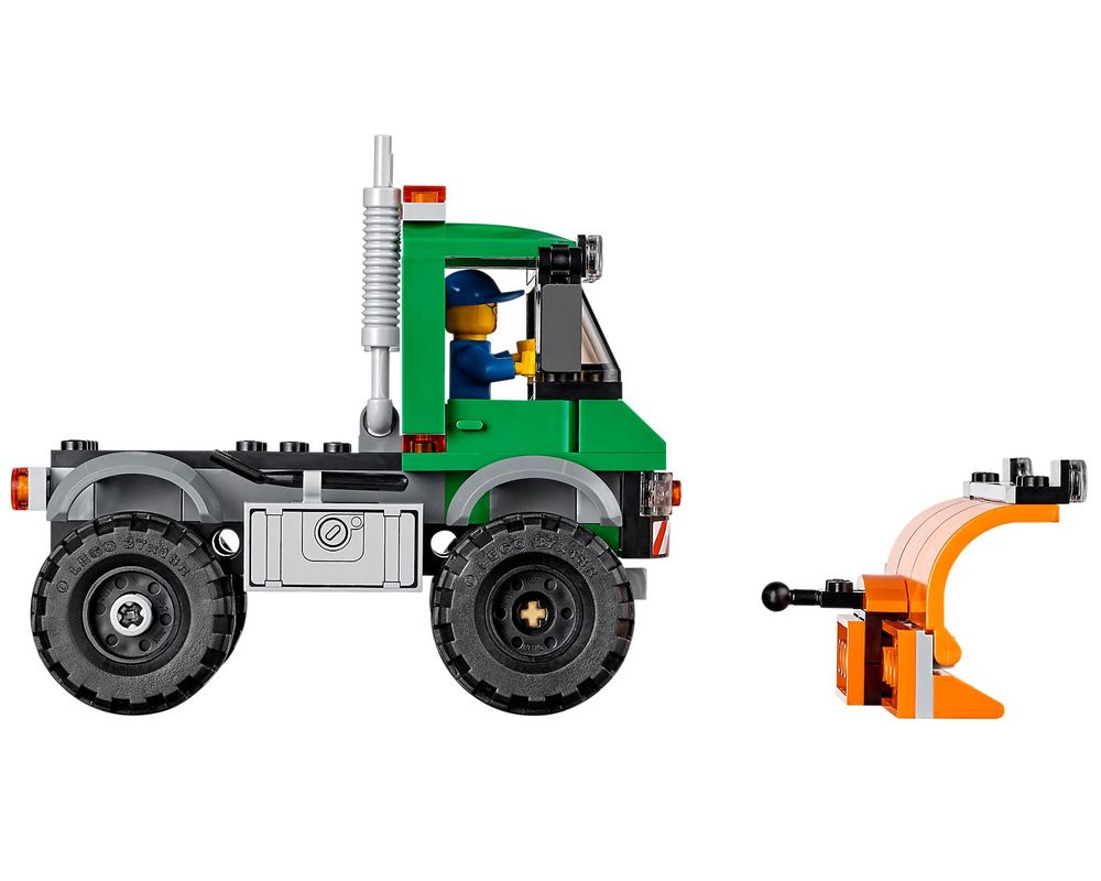 LEGO Set 60083-1 Snowplow Truck