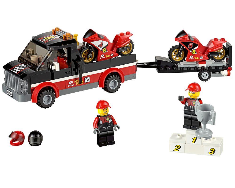 LEGO Set 60084-1 Racing Bike Transporter (Model - A-Model)