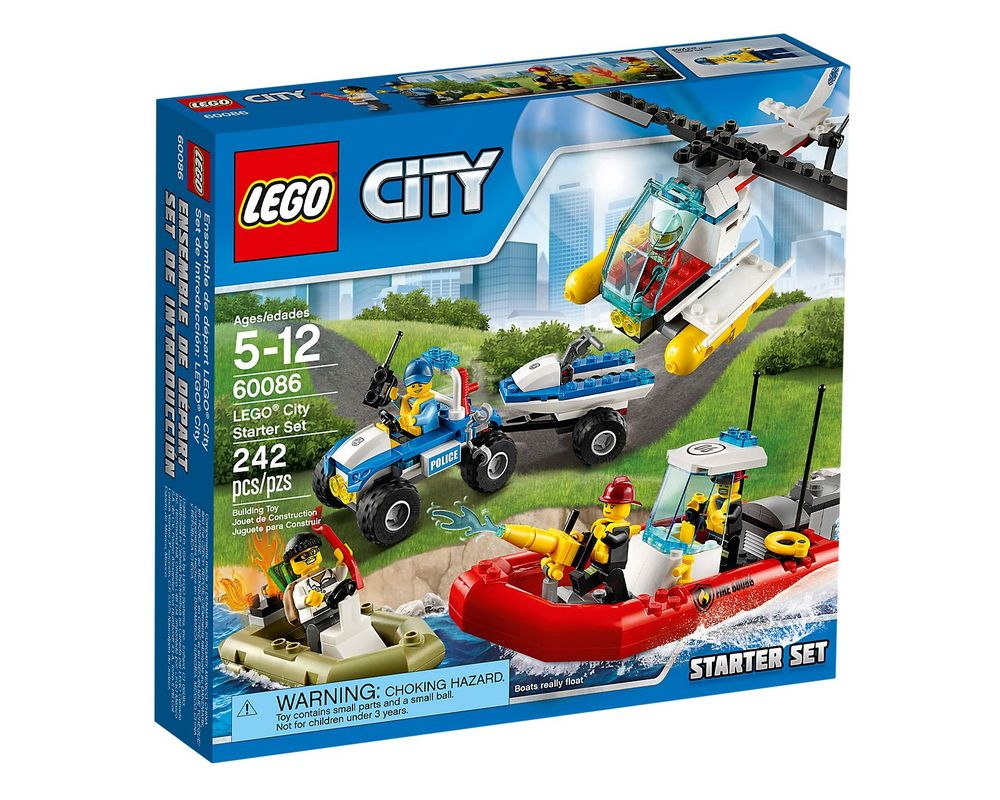 LEGO Set 60086-1 City Starter Set