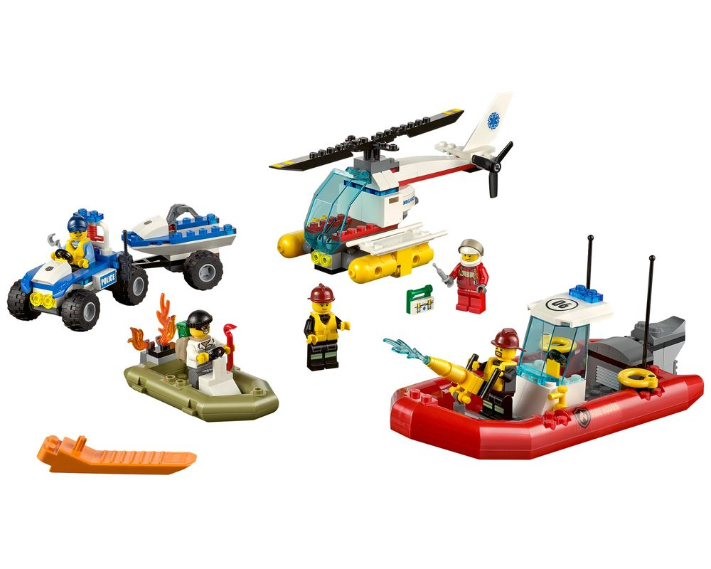 LEGO Set 60086-1 City Starter Set (Model - A-Model)