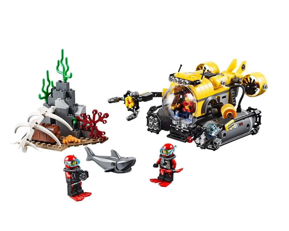 LEGO Set 60092-1 Deep Sea Submarine (LEGO - Model)