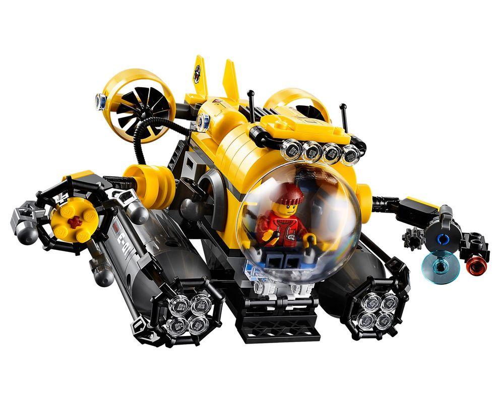 LEGO Set 60092-1 Deep Sea Submarine