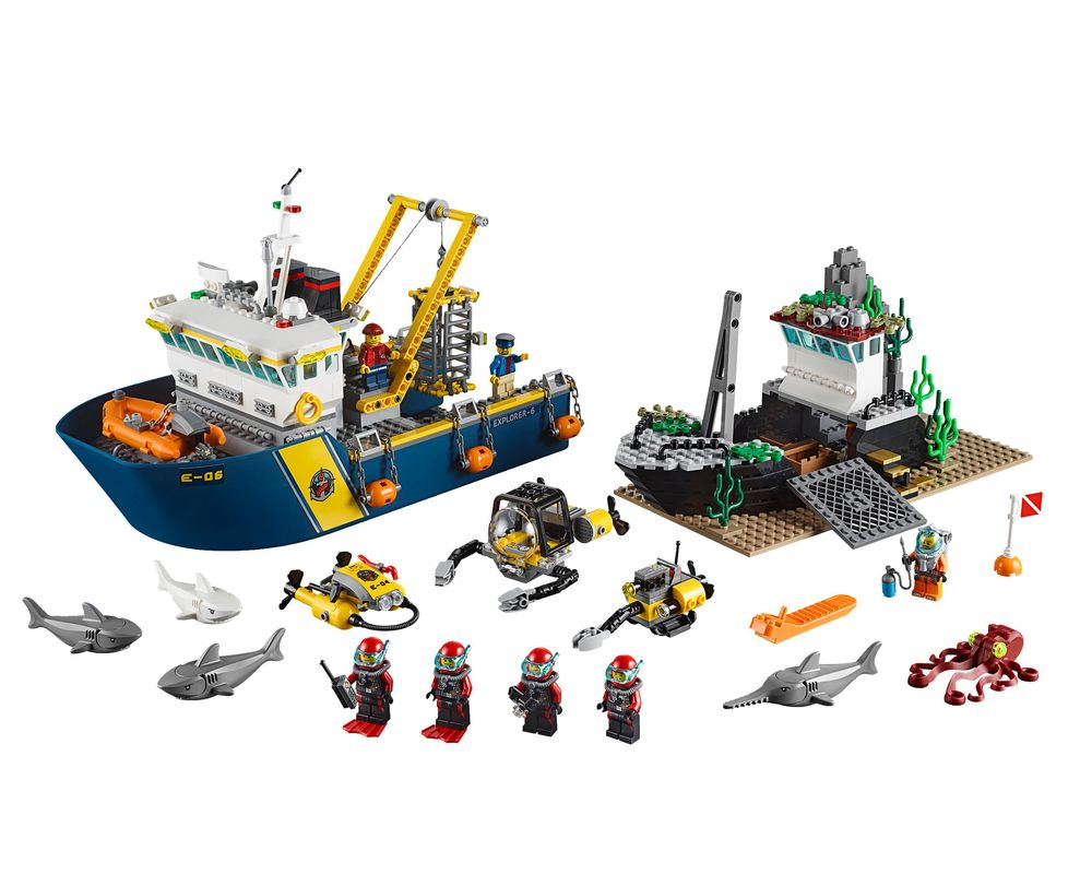 LEGO Set 60095-1 Deep Sea Exploration Vessel (Model - A-Model)