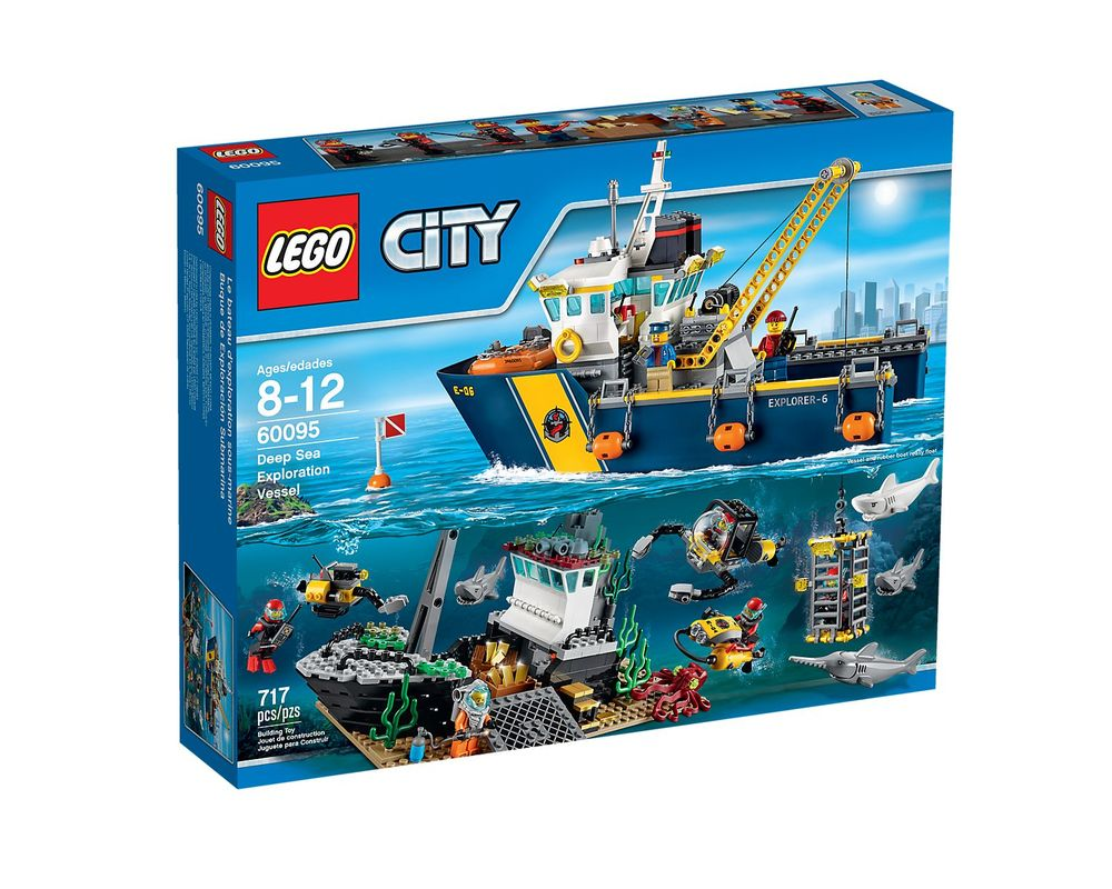 LEGO Set 60095-1 Deep Sea Exploration Vessel