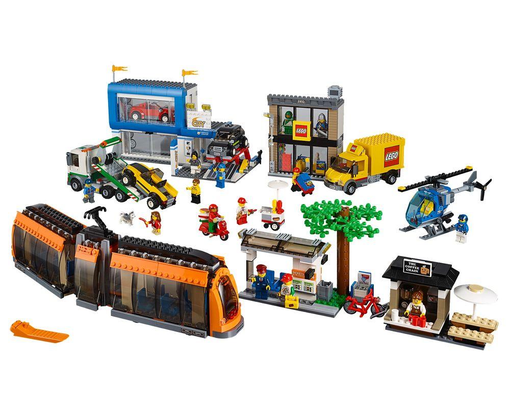 LEGO Set 60097-1 City Square (LEGO - Model)