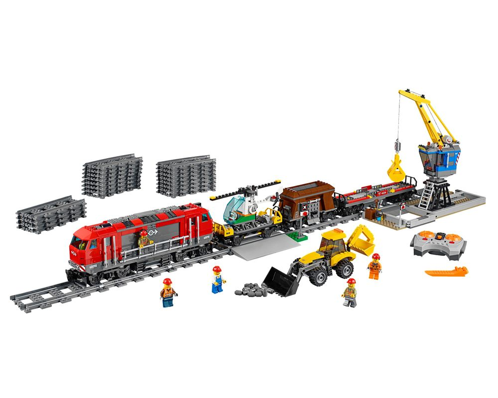 LEGO Set 60098-1 Heavy-Haul Train (Model - A-Model)