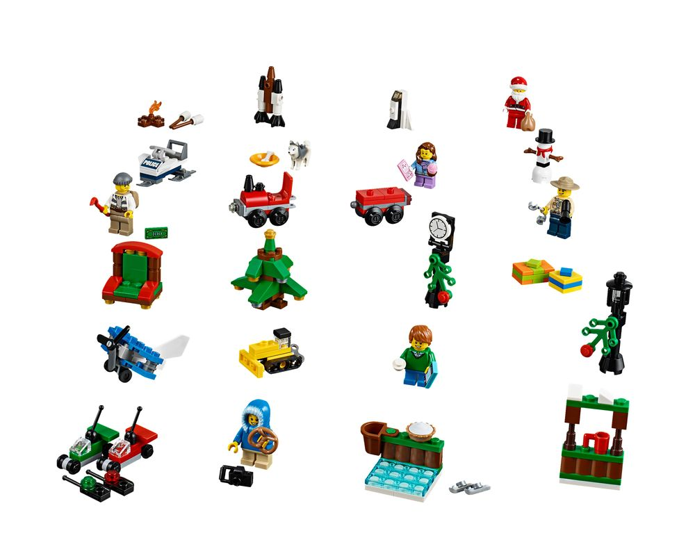 LEGO Set 60099-1 City Advent Calendar 2015 (LEGO - Model)