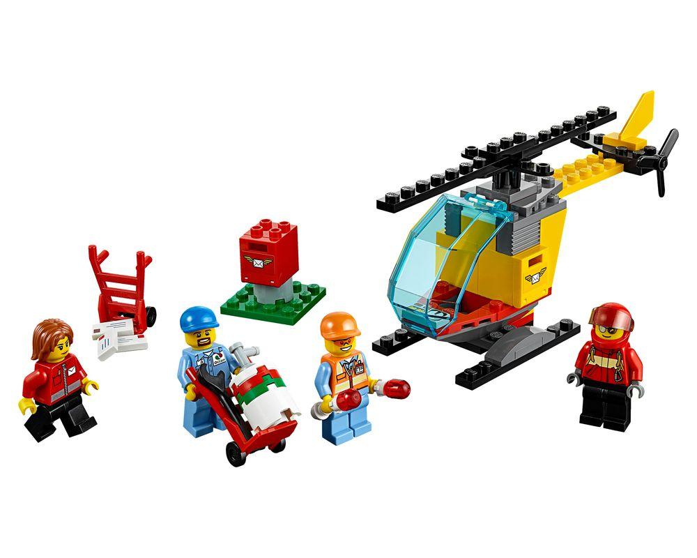 LEGO Set 60100-1 Airport Starter Set (Model - A-Model)