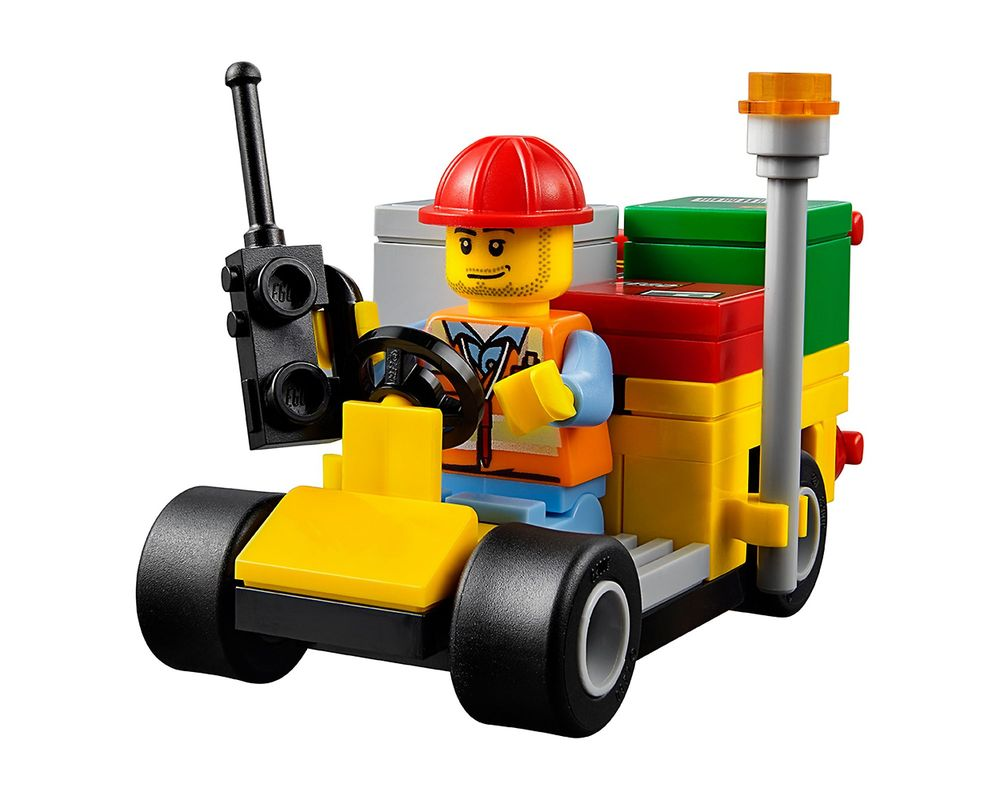 LEGO Set 60101-1 Airport Cargo Plane