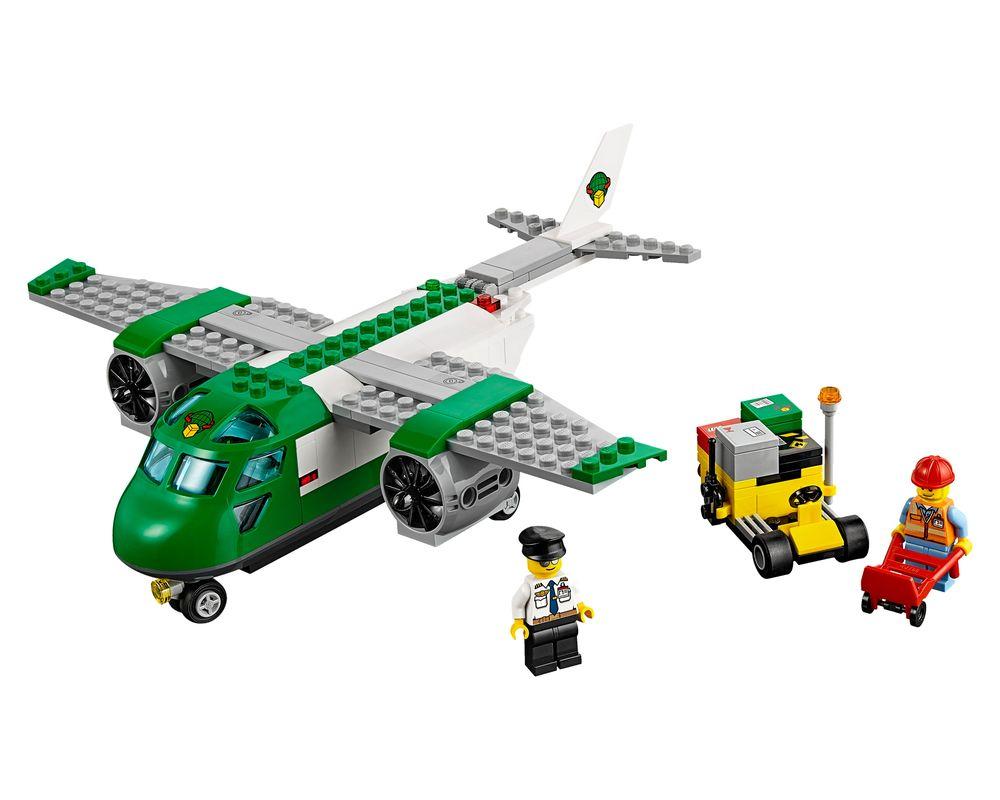 LEGO Set 60101-1 Airport Cargo Plane (Model - A-Model)