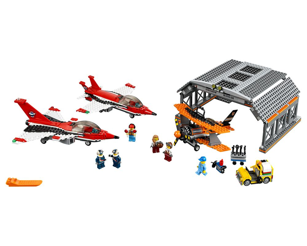LEGO Set 60103-1 Airport Air Show (Model - A-Model)