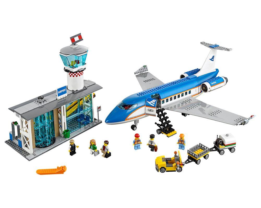 LEGO Set 60104-1 Airport Passenger Terminal (LEGO - Model)