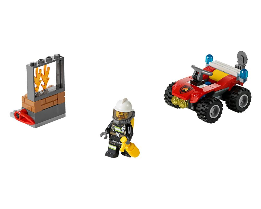 LEGO Set 60105-1 Fire ATV (LEGO - Model)