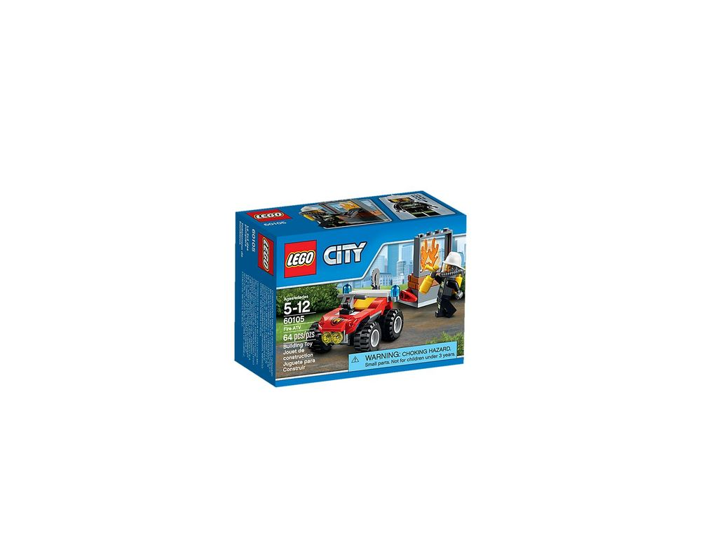 LEGO Set 60105-1 Fire ATV
