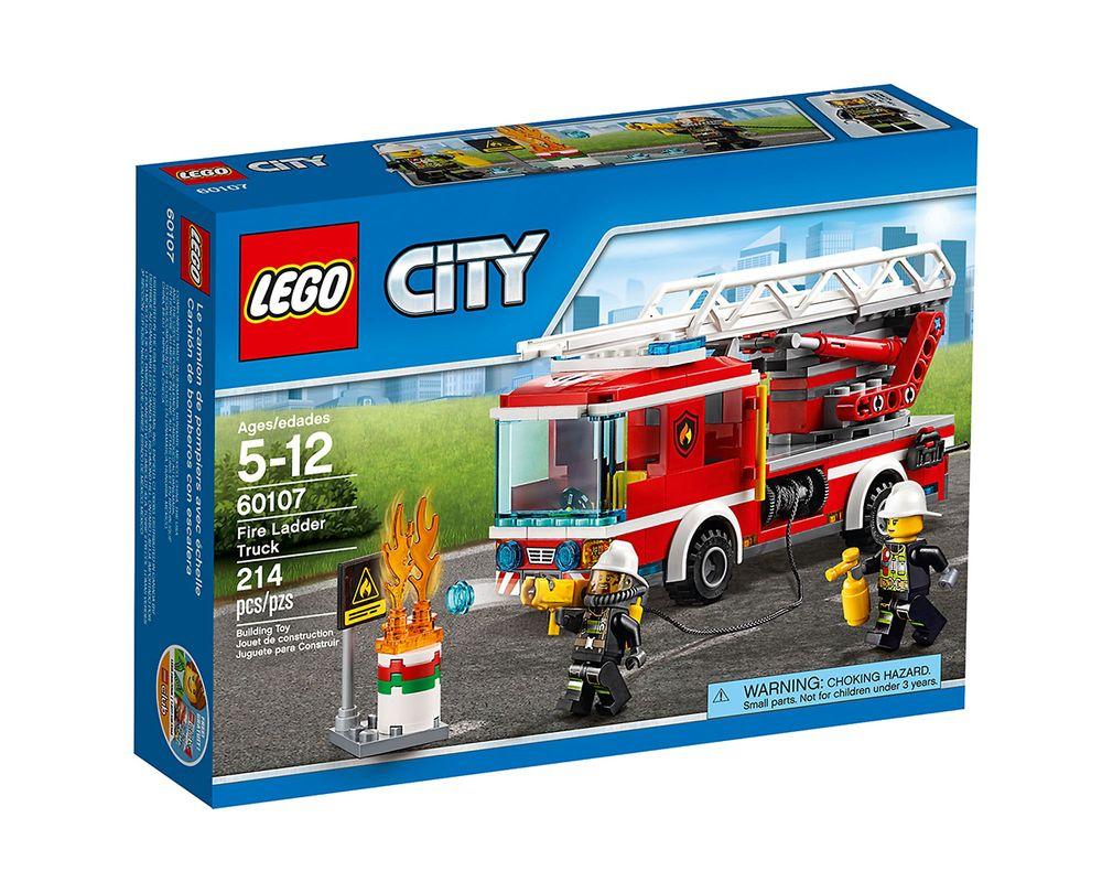 LEGO Set 60107-1 Fire Ladder Truck