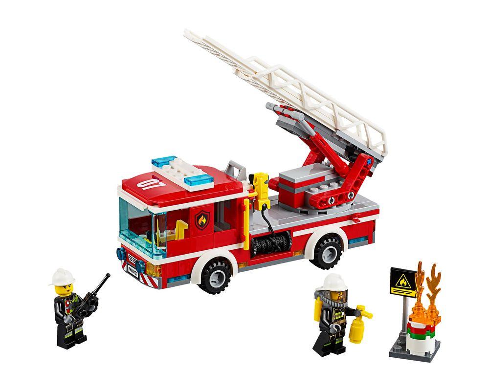 LEGO Set 60107-1 Fire Ladder Truck (Model - A-Model)