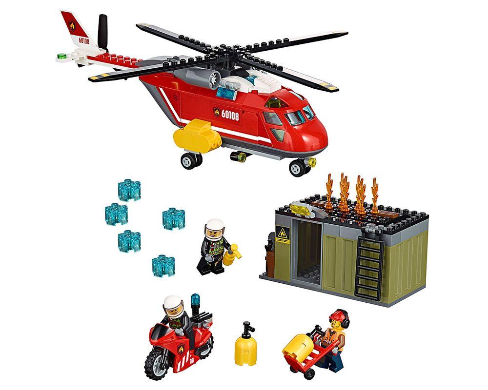 LEGO Set 60108-1 Fire Response Unit (Model - A-Model)