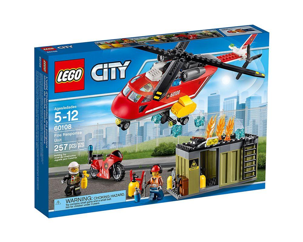 LEGO Set 60108-1 Fire Response Unit