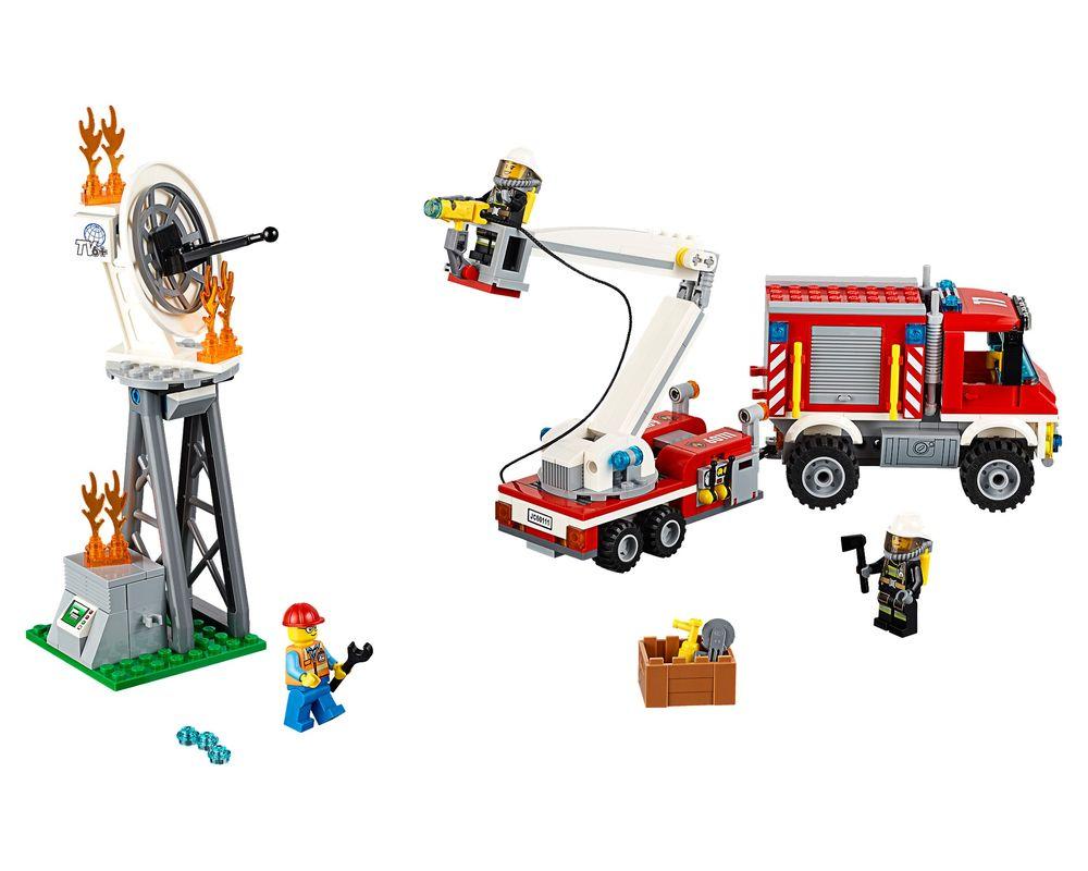 LEGO Set 60111-1 Fire Utility Truck (Model - A-Model)