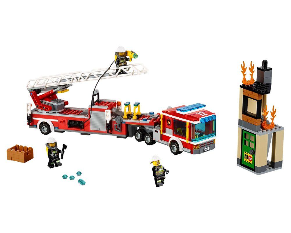 LEGO Set 60112-1 Fire Engine (LEGO - Model)