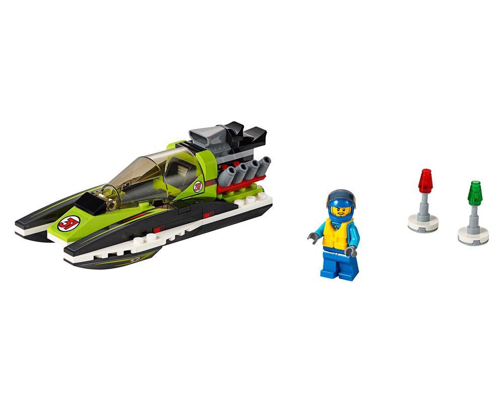 LEGO Set 60114-1 Race Boat (Model - A-Model)