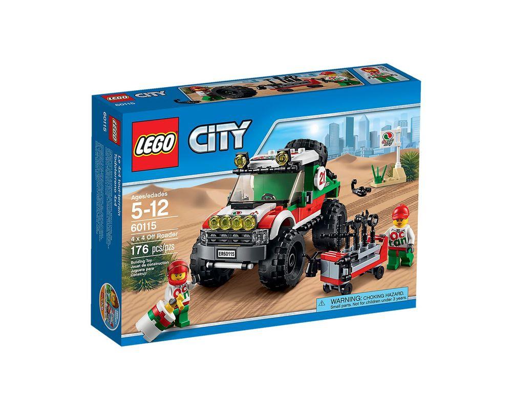 LEGO Set 60115-1 4 x 4 Off Roader