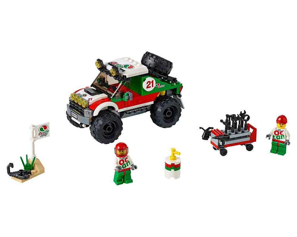 LEGO Set 60115-1 4 x 4 Off Roader (Model - A-Model)