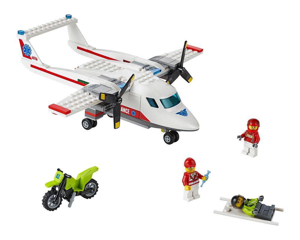 LEGO Set 60116-1 Ambulance Plane (Model - A-Model)
