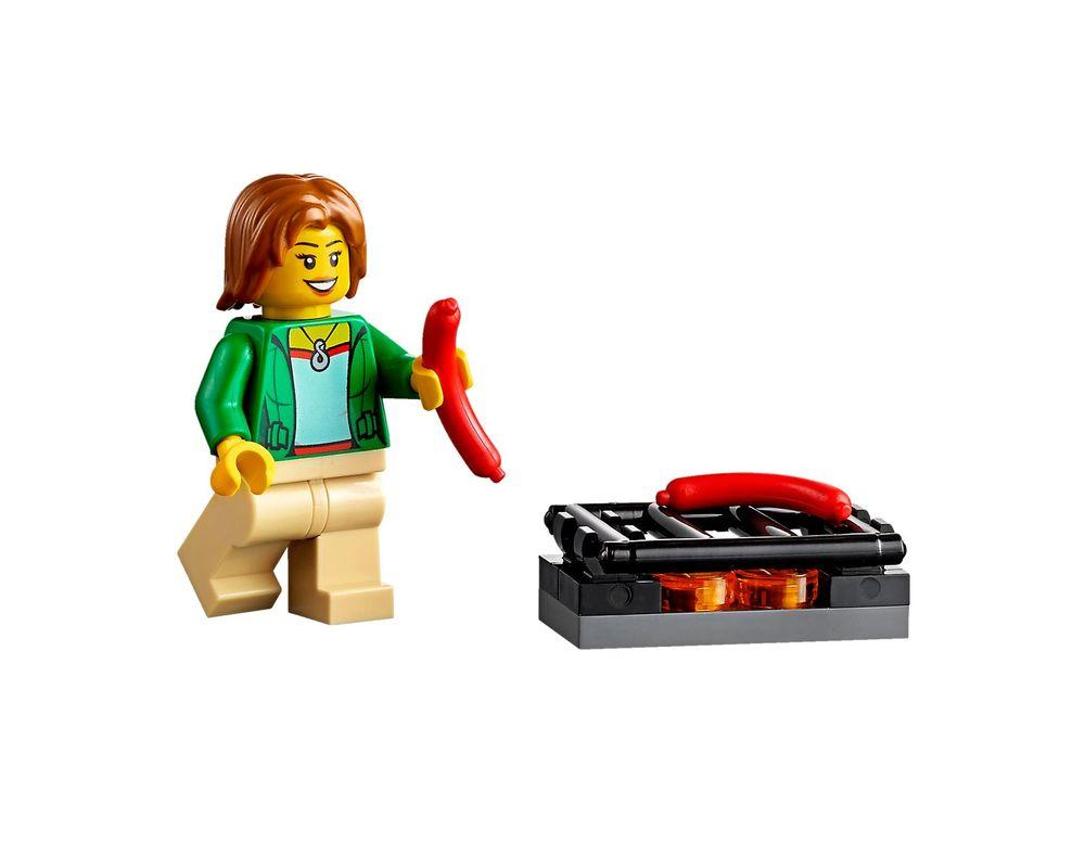 LEGO Set 60117-1 Van & Caravan