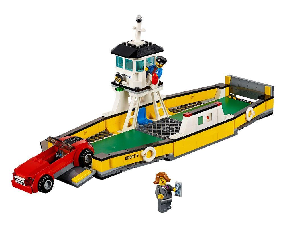 LEGO Set 60119-1 Ferry (LEGO - Model)