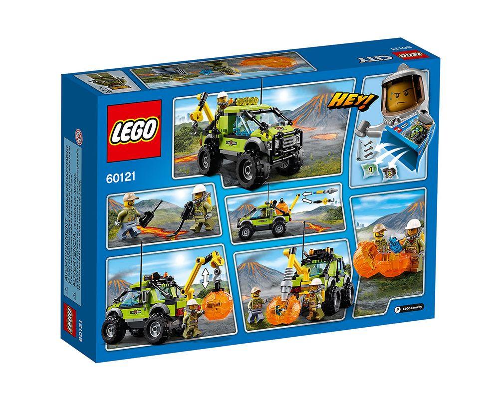LEGO Set 60121-1 Volcano Exploration Truck