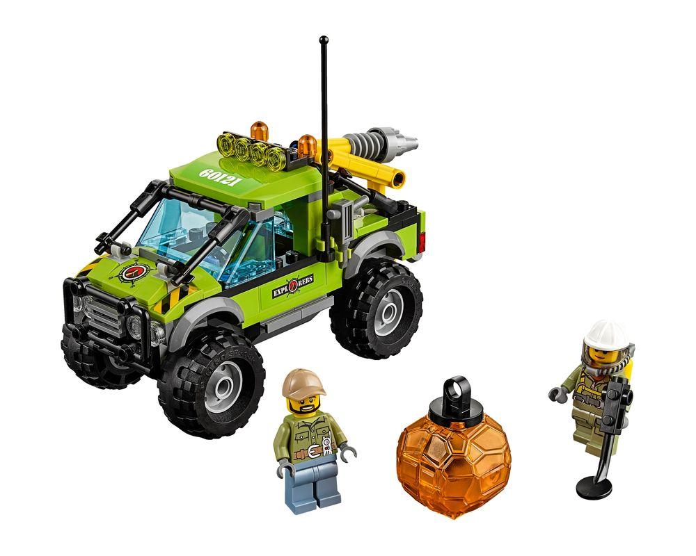 LEGO Set 60121-1 Volcano Exploration Truck (Model - A-Model)