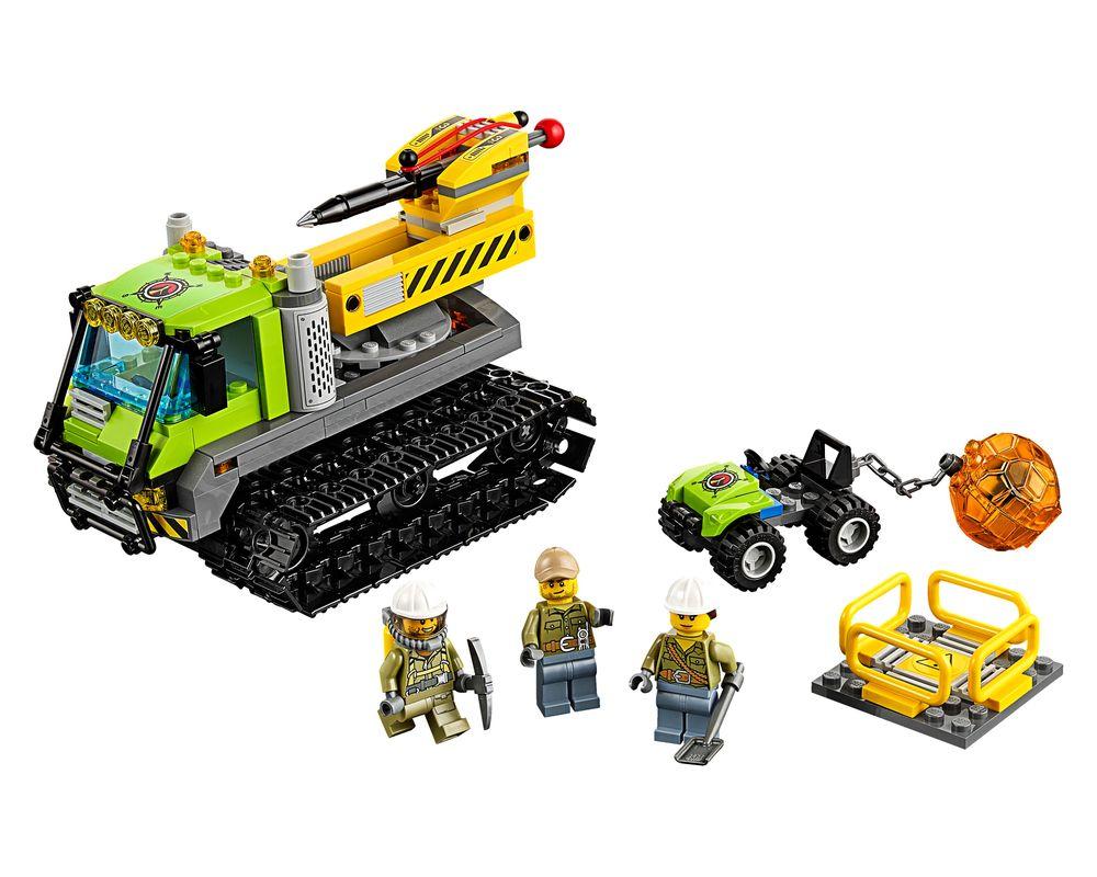 LEGO Set 60122-1 Volcano Crawler (Model - A-Model)
