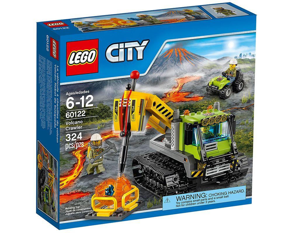 LEGO Set 60122-1 Volcano Crawler