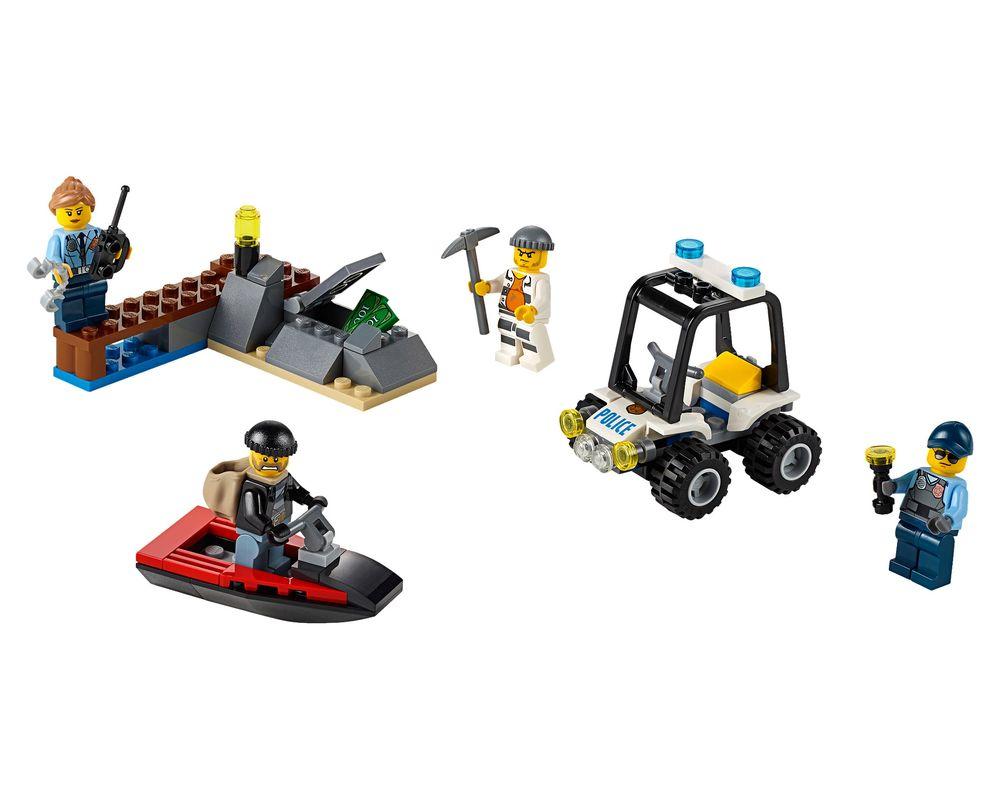 LEGO Set 60127-1 Prison Island Starter Set (LEGO - Model)
