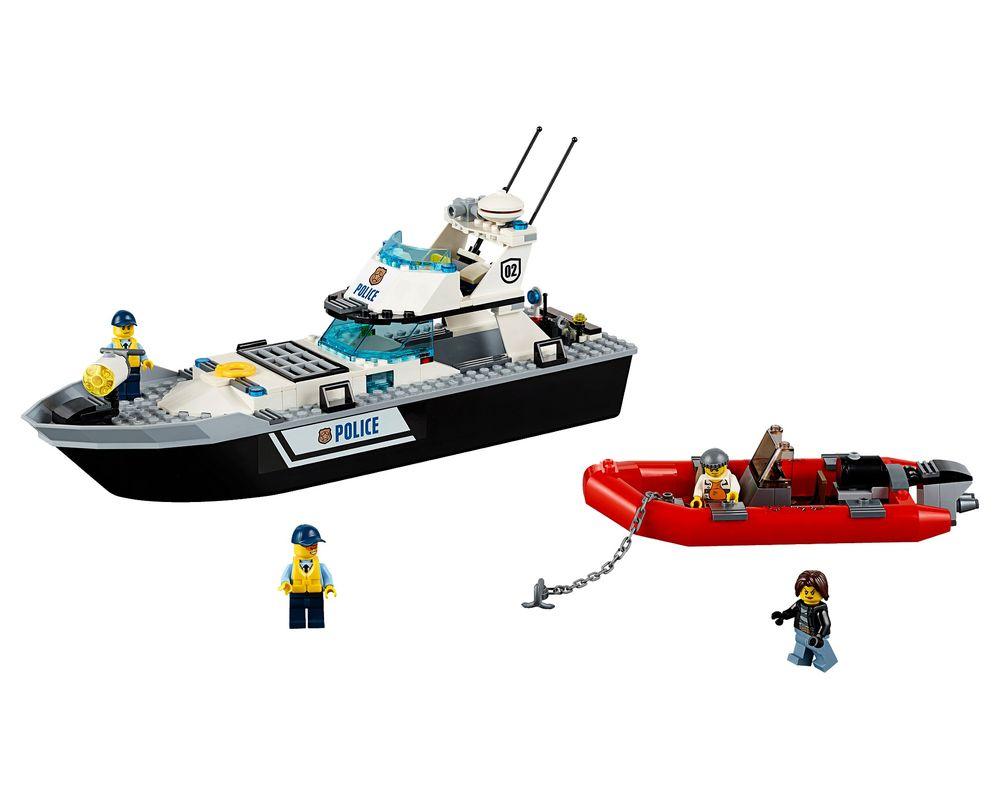 LEGO Set 60129-1 Police Patrol Boat (LEGO - Model)