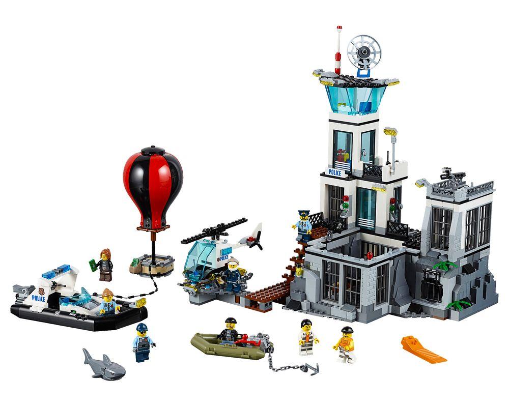 LEGO Set 60130-1 Prison Island (Model - A-Model)