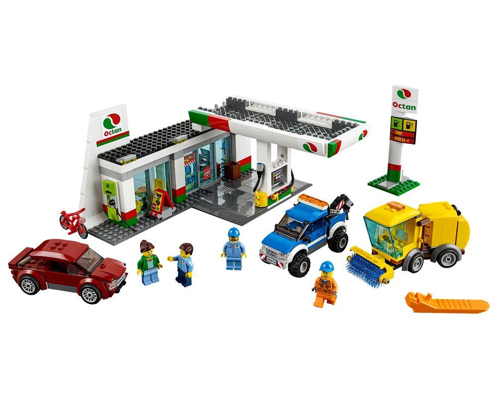 LEGO Set 60132-1 Service Station (LEGO - Model)
