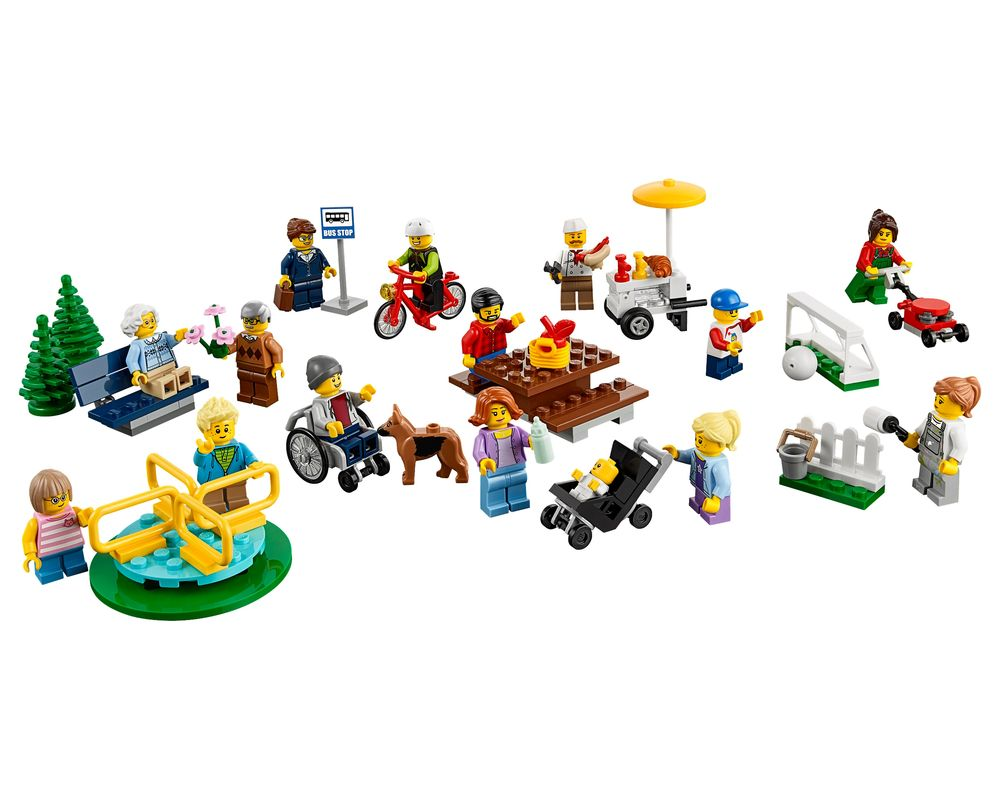 LEGO Set 60134-1 Fun in the park - City People Pack (Model - A-Model)
