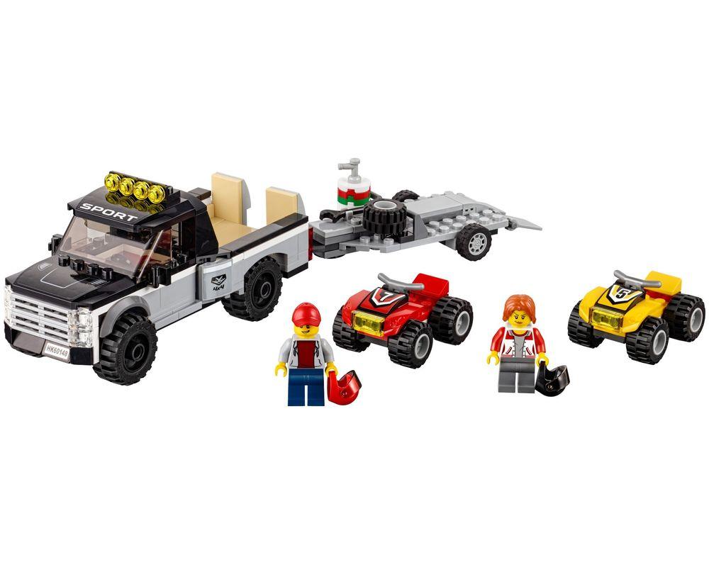 LEGO Set 60148-1 ATV Race Team (Model - A-Model)