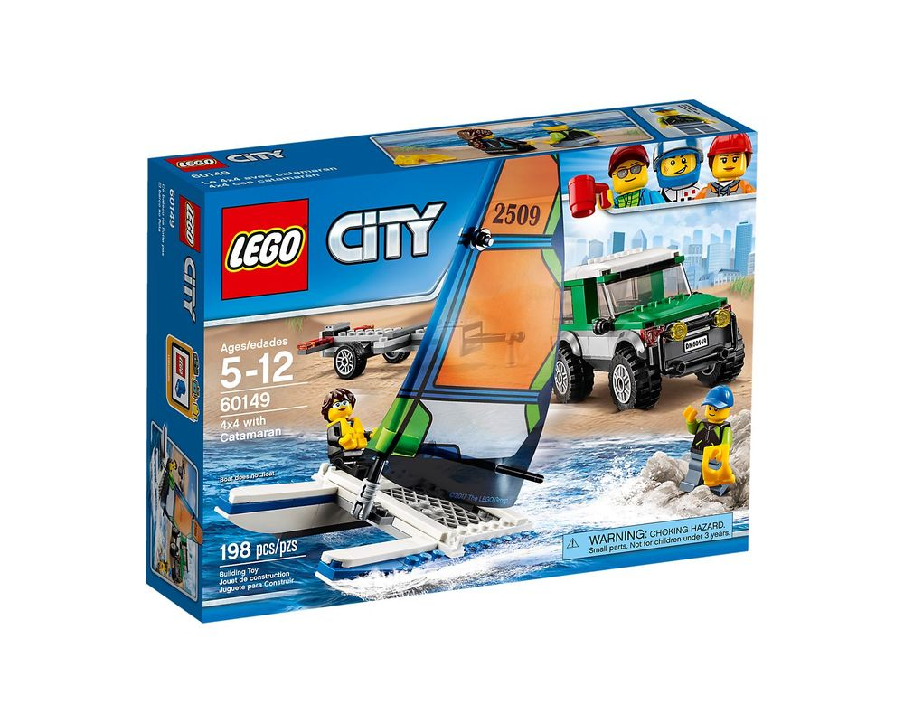 LEGO Set 60149-1 4x4 with Catamaran