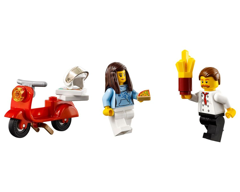 LEGO Set 60150-1 Pizza Van