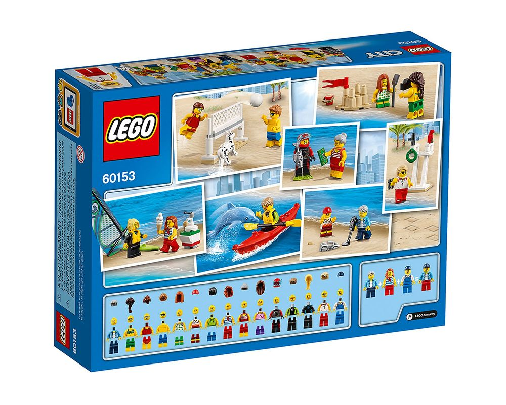 LEGO Set 60153-1 People Pack - Fun At The Beach