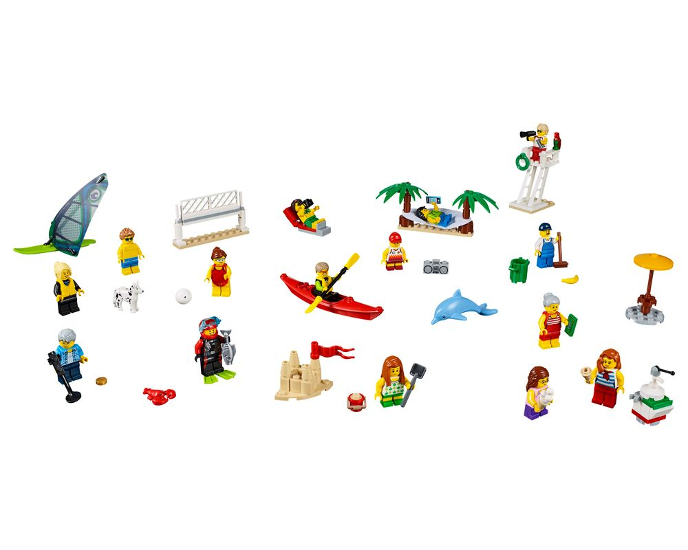LEGO Set 60153-1 People Pack - Fun At The Beach (LEGO - Model)