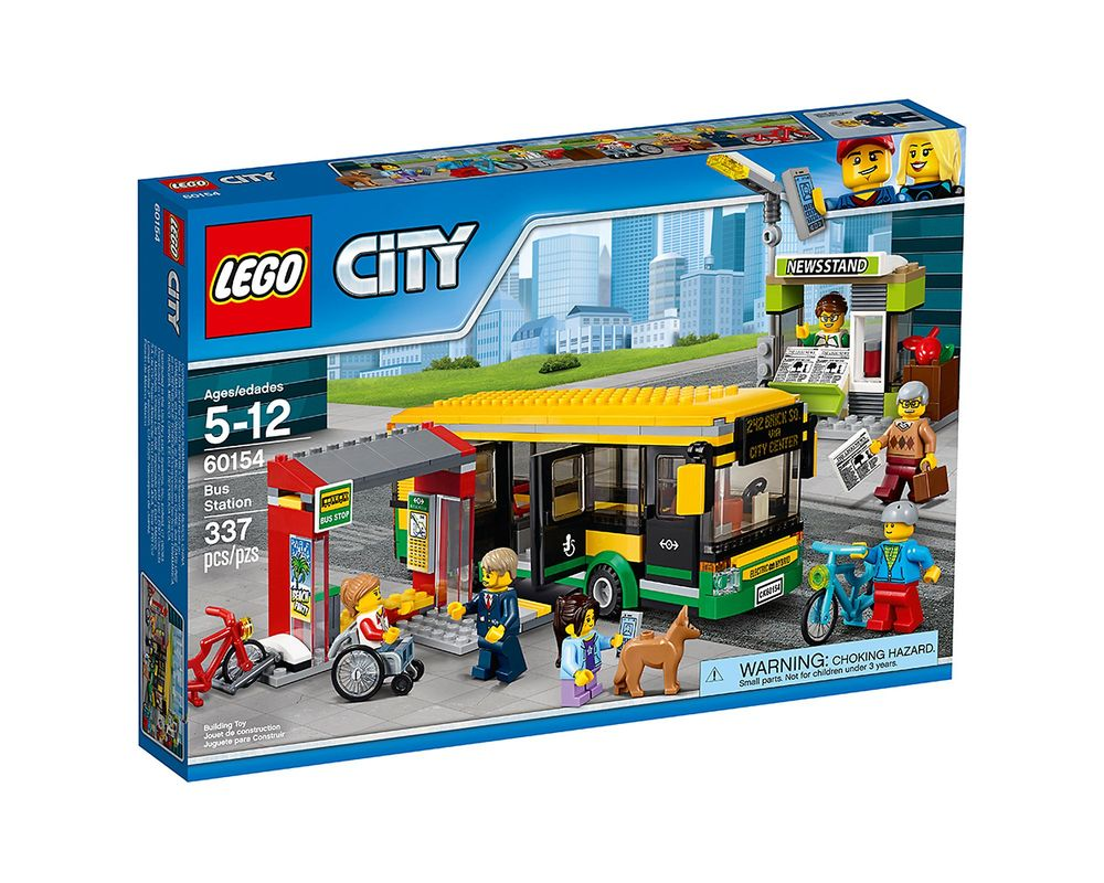 LEGO Set 60154-1 Bus Station