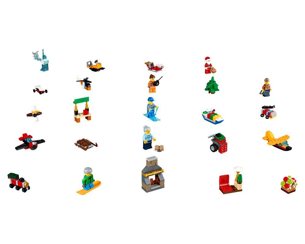 LEGO Set 60155-1 City Advent Calendar (LEGO - Model)