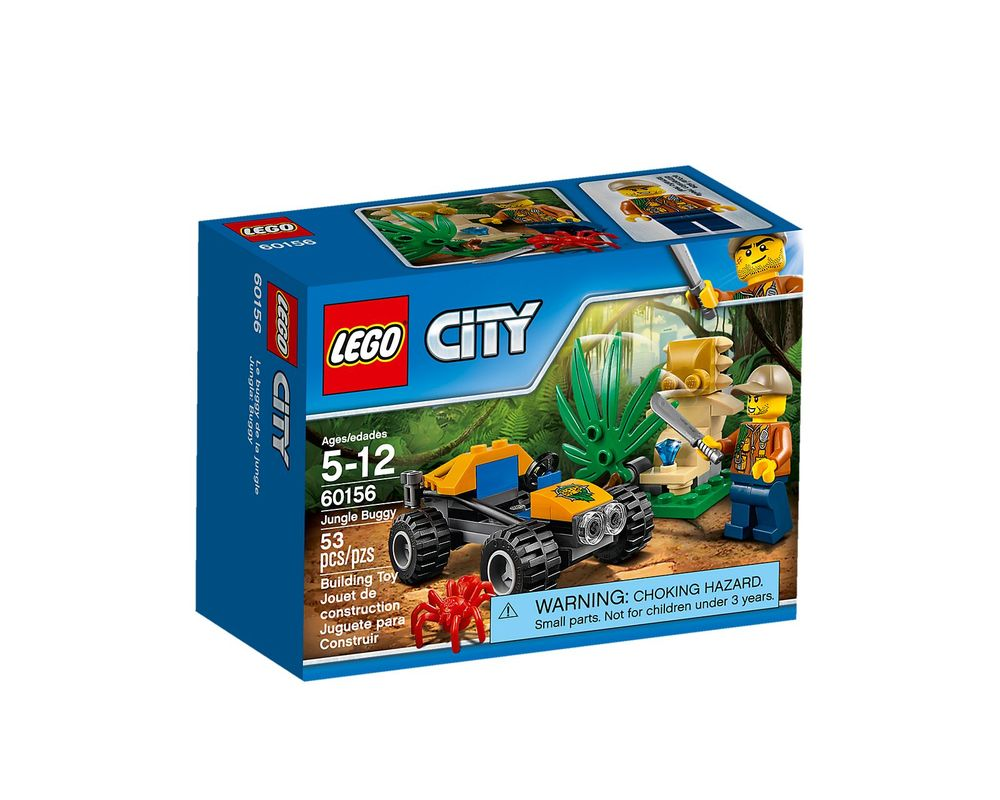 LEGO Set 60156-1 Jungle Buggy
