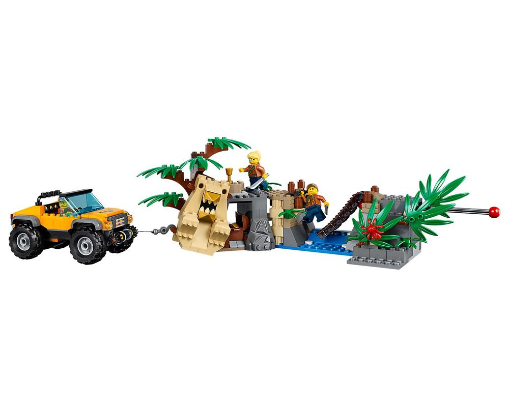 LEGO Set 60162-1 Jungle Air Drop Helicopter
